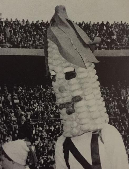 Corn cob man University of Nebraska