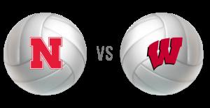 What channel is the nebraska Volleyball game on? Nebraska vs Wisconsin